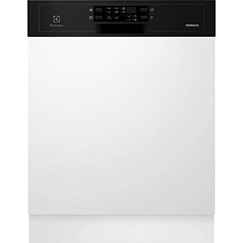 Electrolux ESI5533LOK Semi intégré 13places A+ lave-vaisselle - Lave-vaisselles (Semi intégré, Taille maximum (60 cm), Noir, boutons, Tactil, LED, 1,5 m)