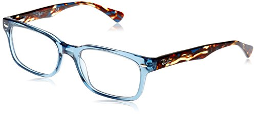 Ray-Ban Damen Brillengestell 0rx 5286 8024 51, Blau (Shiny Transparente Blue)