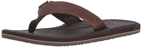 Marrone 45 EU Reef Machado Night Infradito Uomo Brown Scarpe t8s