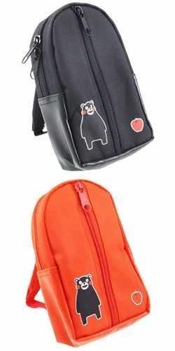 Caract?re Mini sac ? dos porche afin fantaisie mail / [rouge] l?che Kumamon / Pr?fecture de Kumamoto (Japon import)