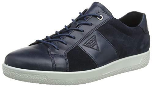 online store 516f7 6f6ce ECCO Herren Soft 1 Men s Sneaker Blau (Denim Blue Navy 51303) 43 EU