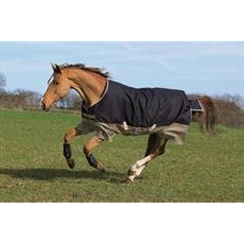 Horseware Amigo Mio Cavallo medio, Black/Turquoise &
