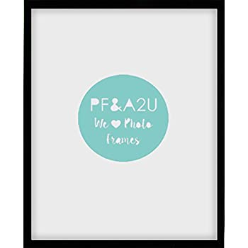 A2 / 59.4 x 42cm Modern Oxford Black Large Poster Photo Picture Frame by Photo Frames And Art 2 u