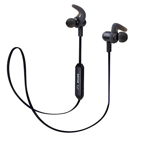 Muze Capsule Bluetooth in-Ear Earphone with Mic (Black)