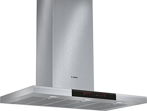 Bosch DWB098J50 - Campana (Canalizado/Recirculación, 860 m³/h, A, Montado en pared, LED,...