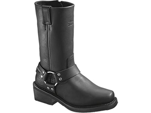 Harley Davidson Hustin Waterproof Women Black d86222 Donna Shoes, Nero (Nero), 36