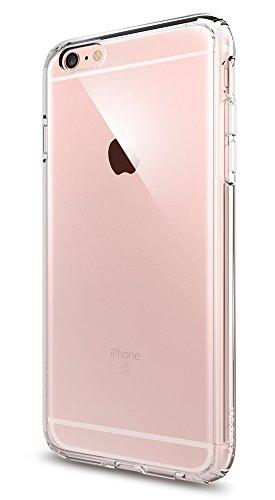 iPhone 6S Plus Hülle, Spigen® [Ultra Hybrid] Luftpolster-Technologie [Crystal Clear] Durchsichtige Rückschale und TPU-Bumper Schutzhülle für iPhone 6 Plus / 6S Plus Case, iPhone 6 Plus / 6S Plus Cover - Crystal Clear (SGP11644)
