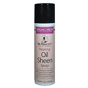 Dr. Miracle's Healing Oil Sheen Spray 7oz by Dr. Miracle's