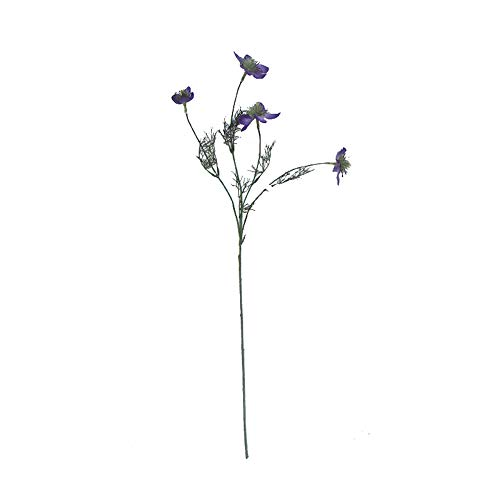 Li Hua Künstliche Blumen Clematis Blumengesteck für Tisch, Schreibtisch, Zimmer, Geschäft, Fotografie, Hochzeit, Dekoration, 2 Stück