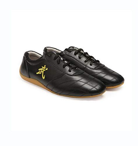 FJJLOVE Zapatos de Taekwondo, Adultos Unisex Zapatos Chinos de Tai-Chi Wu Shu...