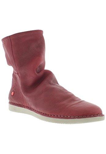 Softinos Damen Teal320sof Kurzschaft Stiefel Rot