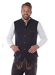 Partychimp 0108-2112-XL - Chaleco para traje regional (unisex), multicolor