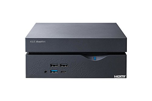 Asus 90MS00Y1-M00820 Mini Desktop PC (Intel Core i3, 4GB Festplatte, 4GB RAM, Win 10) schwarz - 5