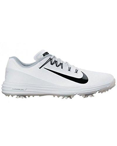 Nike Lunar Command 2, Chaussures sport homme Blanc (White/black)