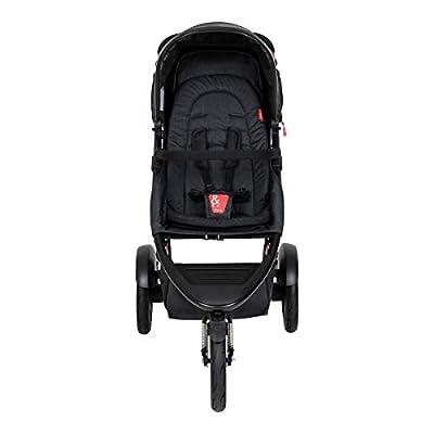 Phil&teds Dash V6 2019+ - Silla de paseo con asiento, color negro