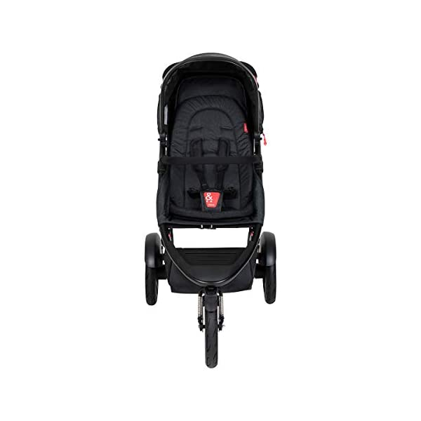 Phil&teds Dash Buggy with Seat Insert Black + Carrycot Baby Bath with Cover in Black phil&teds Box contents: 1 Phil&teds Dash buggy with seat insert black + baby bath (Carrycot) with cover black With a second seat, can be used as a twin and siblings for 2 children (not included, please order separately) 11.2 kg lightweight and slim 58 cm. 3