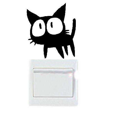 vinilo-decorativo-pegatina-pared-cristal-puerta-varios-colores-a-elegir-gato