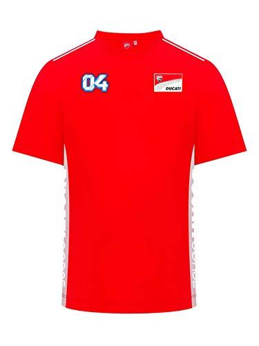Camiseta Ducati para Hombre - Andrea Dovizioso - Rojo - M
