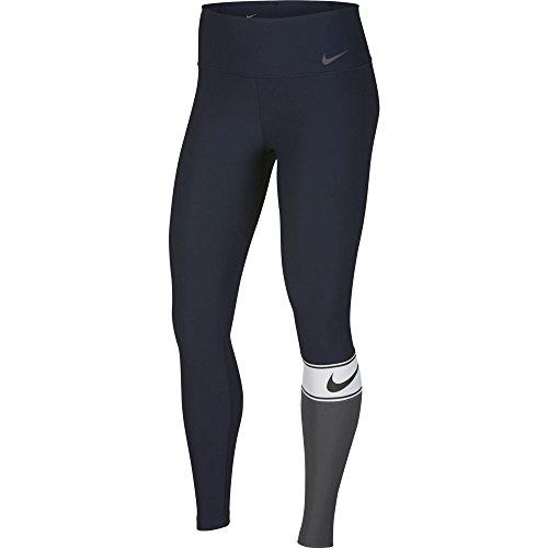 Nike W nk PWR TGHT PL Sport SP18, Hose Damen M Schwarz (Männer Nike Windbreaker Jacke)