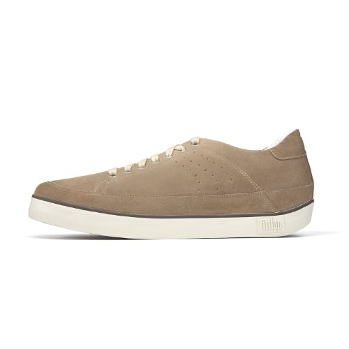 Fitflop  Supertone Tm Suede, Baskets pour homme Taupe