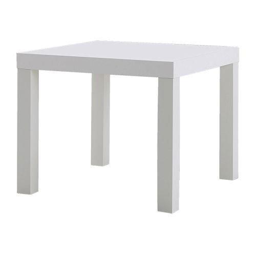 IKEA Lack Beistelltisch Weiß - Holz - White