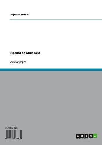 Español de Andalucía por Tatjana Gordeichik