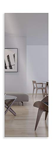 Artland Qualitätsspiegel I Wandspiegel 140 x 50 cm Spiegel 5 mm dick Rahmenlos mit Aufhängevorrichtung B8JP