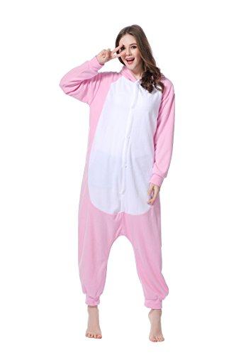 Kigurumi Pyjama Lapin Costume Cosplay unisexe pour Carnaval Halloween Noël Anniversaire Party 1