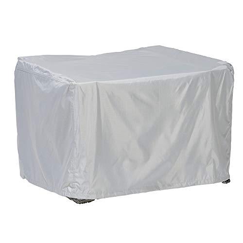 Loungesessel Abdeckung / Schutzhülle für Gartensessel - Premium Plus Leicht (100 x 100 x 70 cm) wasserdicht, winterfest, atmungsaktiv - Abdeckplane für Gartenmöbel / Ultraleicht / UV- & Frostbeständig