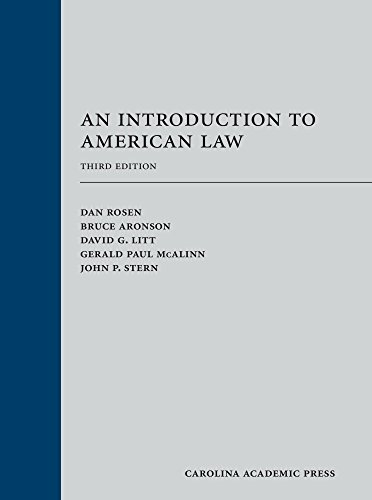 An Introduction to American Law thumbnail