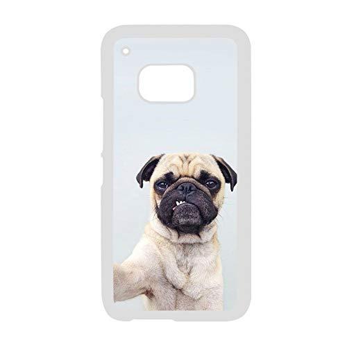 Babu Building Kunststoffschalen Verwenden Sie auf M9 HTC Design Pug Dog Guy Lieblichkeit (Moto E Greatshield)