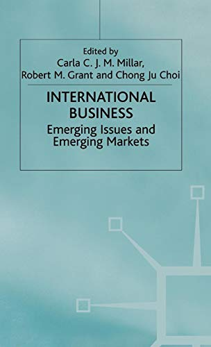 International Business: Emerging Issues and Emerging Markets