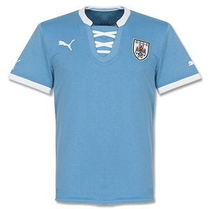 2013-14 Uruguay Home Puma Football Shirt