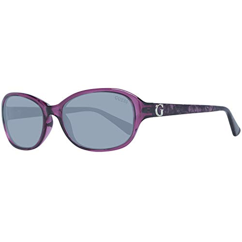 Guess Damen GU7356PUR-357 Sonnenbrille, Violett (Purple), 57