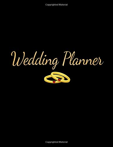 Wedding Planner: Beautiful Gold Lettering Undated Wedding Planner & Organizer Includes Budget Planner, Checklist, Seating Chart, Timeline & More, Large Journal - 12mo-outfit