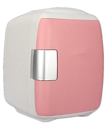 XW Auto Kühlschrank 4L Mini Kleine Kühlschrank Brustmilch Box Kühlschrank Kalt Und Warme Art , Light Pink,light pink