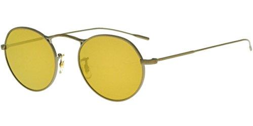 Preisvergleich Produktbild Oliver Peoples Sonnenbrillen M-4 30TH OV 1220S ANTIQUE GOLD/AMBER GOLDTONE Unisex