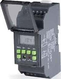 L&T GIC Daily Weekly Programmable Electronic Crono Timer Switch 110 240 VAC Crono Time switch,110 - 240 VAC (50/60 Hz),1 C/O (SPDT) Cat. No. : 67DDT0