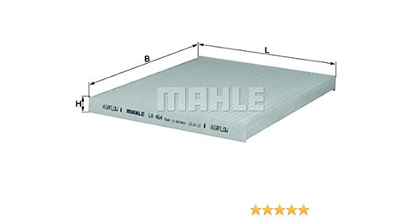 Mahle Knecht La 464 Filter Innenraumluft Auto