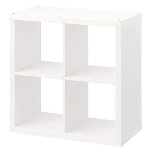IKEA KALLAX Regal in weiß; (77x77cm)