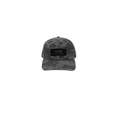 Alpha Industries VLC Cap, Black Camo, Einheitsgröße Army Black Hat