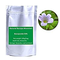 FashLady 2016 Free shipping Natural Bacopa Monnieri Extract Powder 50% Bacopaside 100g/bag