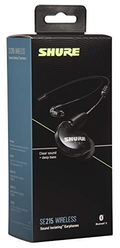 Shure SE215 Bluetooth 5.0 In Ear Kopfhörer mit Sound Isolating Technologie und Mikrofon für iPhone & Android - Premium Kabellos Ohrhörer mit warmem & detailreichem Klang - Schwarz - 4