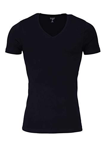 OLYMP Herren Unterhemd Kurzarm schwarz (15) M