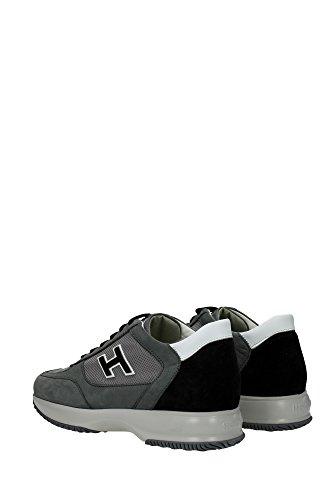 HXM00N0Q102C5K777WC Hogan Sneakers Homme Chamois Vert Vert