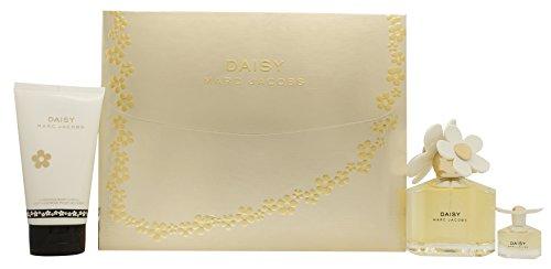 Marc Jacobs Mini (Marc Jacobs Daisy Geschenkset 100ml EDT + 150ml Körperlotion + 4ml EDT)