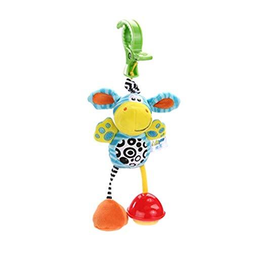 kemai Baby Kinderwagen Kinderwagen Kinderwagen Spielzeug, Infant Cartoon Tier Rassel Puppe Baby Arch Kinderwagen Krippe Aktivität Hängende Spielzeug, kleines Geld (Kinderwagen Arch)