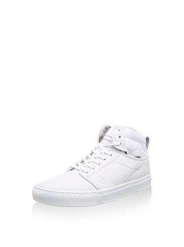 Vans Alomar de en cuir/Toile 3D Aloha dentelle Up Trainer Blanc 3d aloha white white