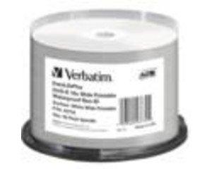 Verbatim DVD-R 16X bulk 4.7GB W. Glossy Waterp.prof.Non IDBrand,50Pack, 43734 (Waterp.prof.Non