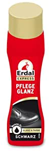 Erdal Lot de 4 tubes de cirage liquide Noir 4 x 75 ml